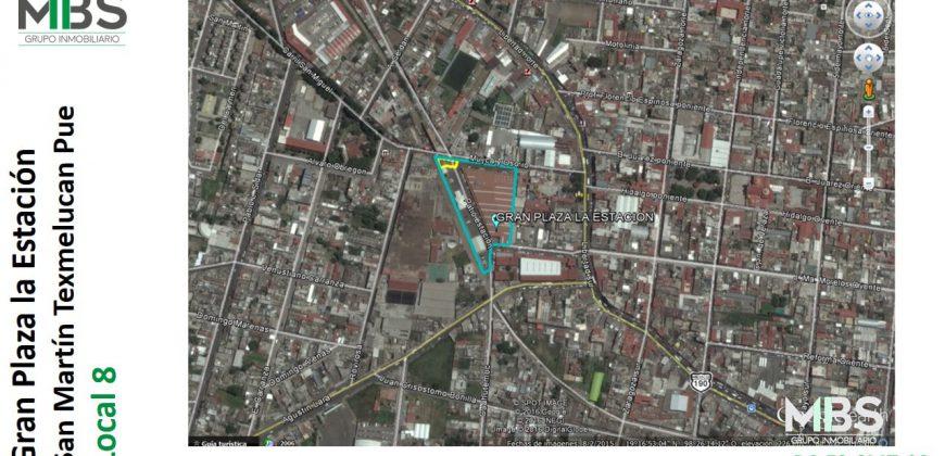 """Local 8 """"Gran Plaza La Estación"""" San Martín Texmelucan"""